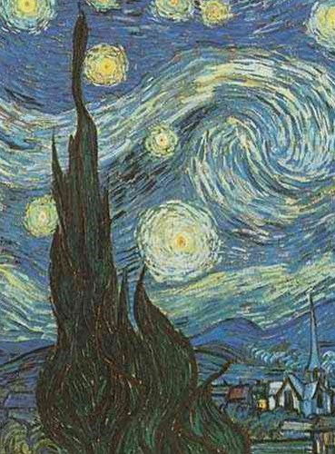 Van Gogh's Starry Night Notebook