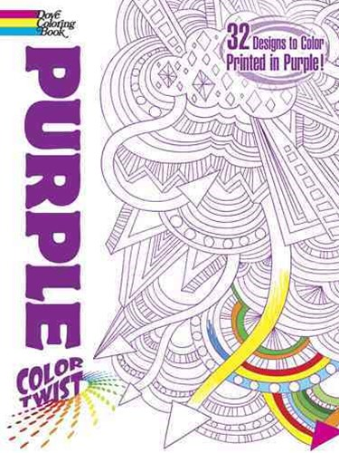 COLORTWIST -- Purple Coloring Book