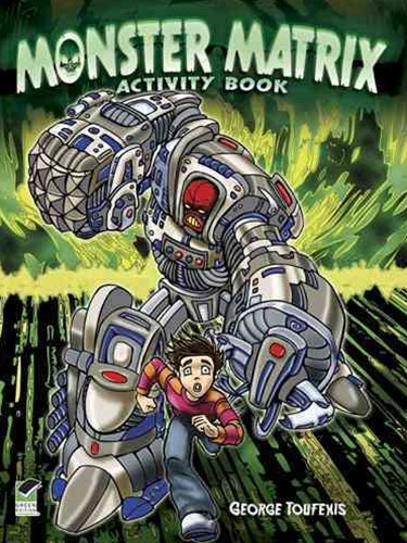 Monster Matrix Activity Book