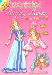 Glitter Sleeping Beauty Sticker Paper Doll - Non-Fiction Art & Activity