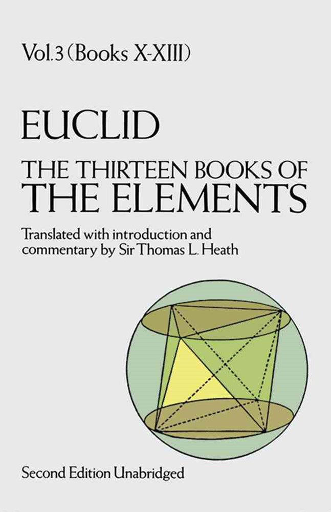 Thirteen Books of the Elements, Vol. 3