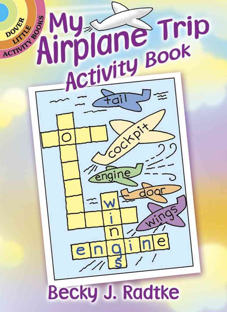 My Airplane Trip Activity Book