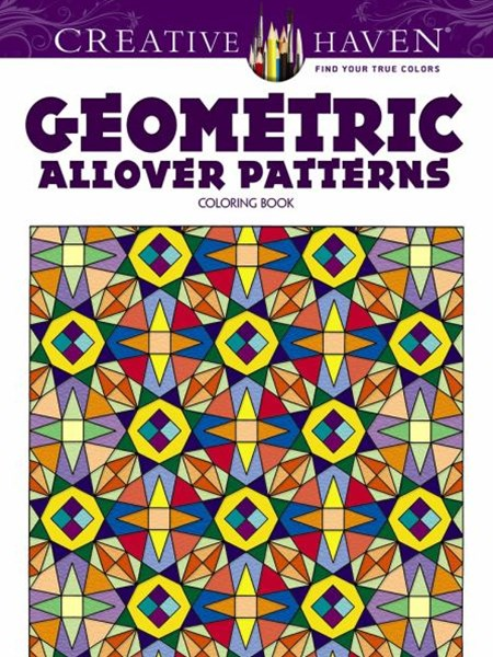 Creative Haven Geometric Allover Patterns Coloring Book