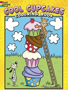 Cool Cupcakes Coloring Book