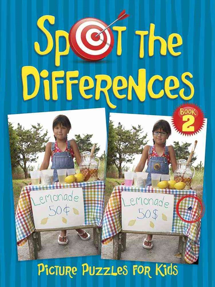 Spot the Differences Picture Puzzles for Kids 2