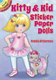 Kitty and Kid Sticker Paper Dolls