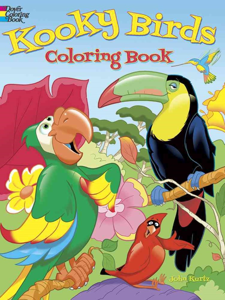 Kooky Birds Coloring Book
