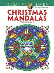 Creative Haven Christmas Mandalas Coloring Book by MARTY NOBLE (9780486791883) - PaperBack - Craft & Hobbies Puzzles & Games