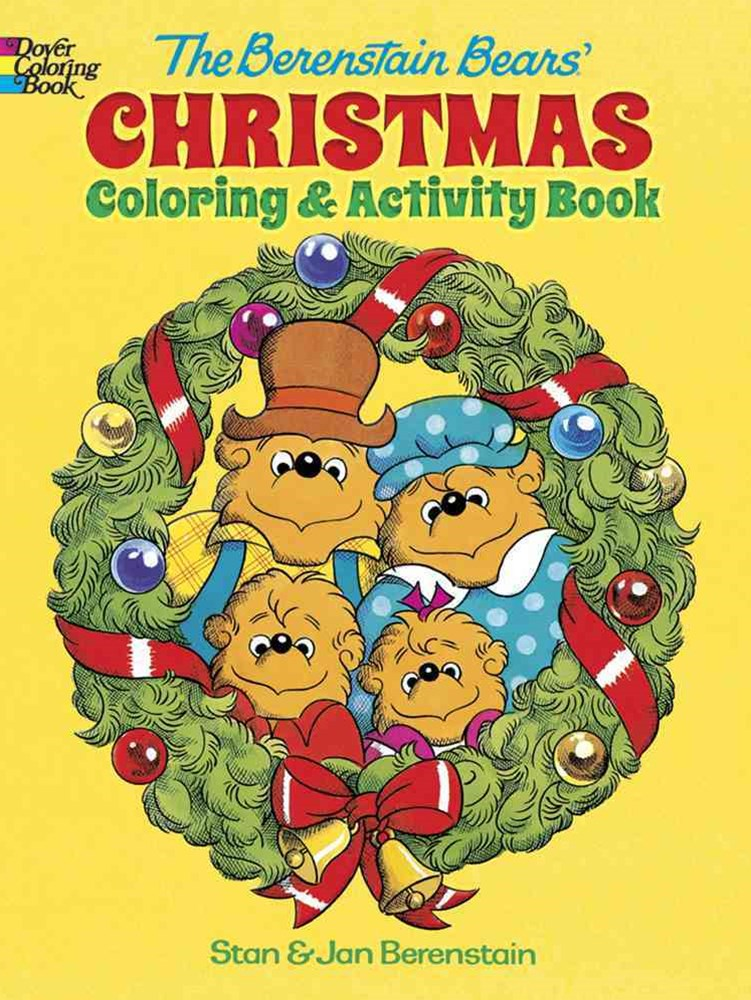 Berenstain Bears Christmas Coloring and Activity Book