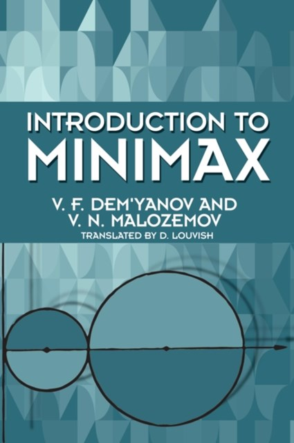 (ebook) Introduction to Minimax
