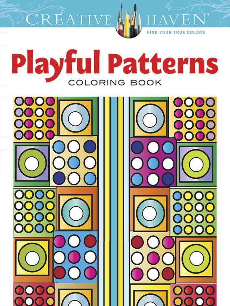 Creative Haven Playful Patterns Coloring Book