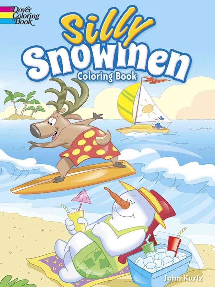 Silly Snowmen Coloring Book