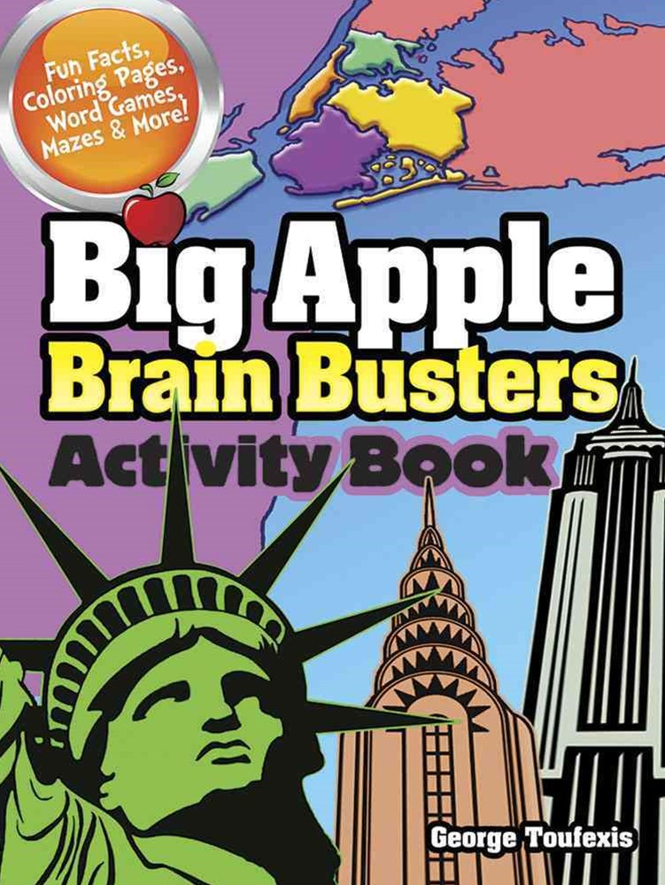 Big Apple Brain Busters Activity Book