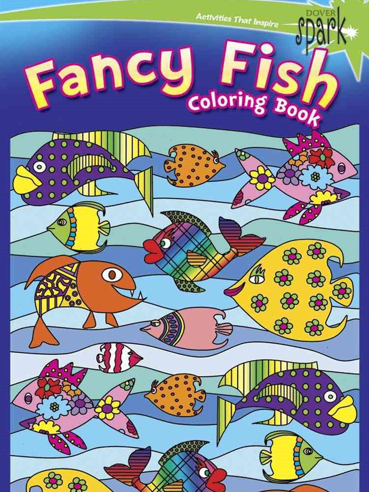 SPARK  Fancy Fish Coloring Book