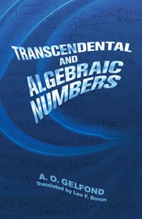 (ebook) Transcendental and Algebraic Numbers - Science & Technology Mathematics