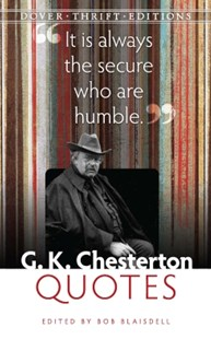 (ebook) G. K. Chesterton Quotes - Modern & Contemporary Fiction Literature