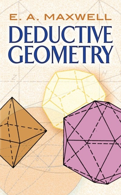 (ebook) Deductive Geometry