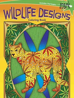 SPARK  Wildlife Designs Coloring Book