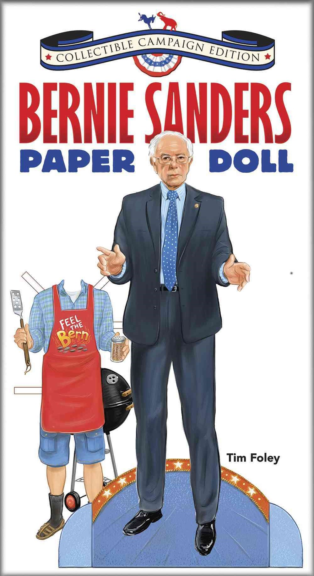 Bernie Sanders Paper Doll Collectible Campaign Edition