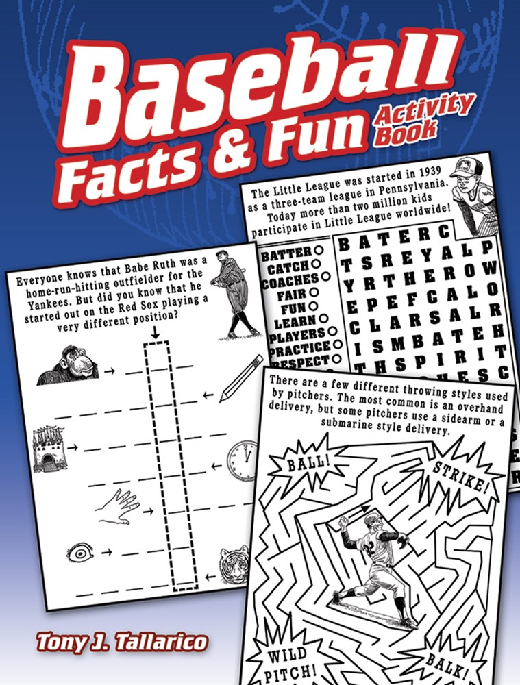 Baseball Facts and Fun Activity Book
