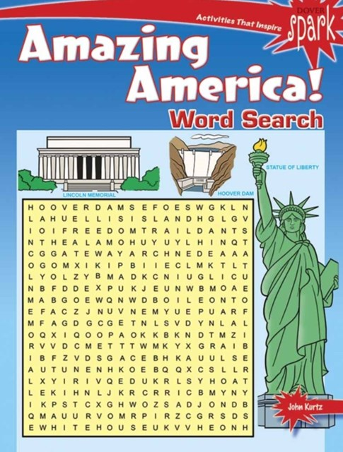 SPARK Amazing America! Word Search