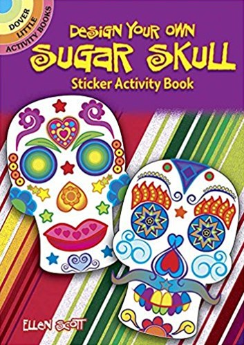 Design Your Own Sugar Skull Activity Book