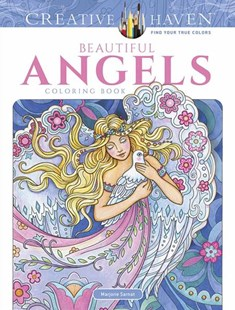 Creative Haven Beautiful Angels Coloring Book by MARJORIE SARNAT (9780486818573) - PaperBack - Non-Fiction Art & Activity