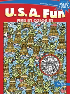 SPARK U.S.A. Fun Find It! Color It!