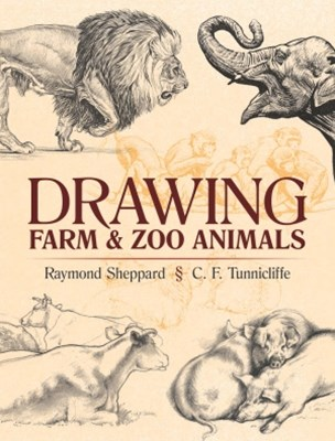 (ebook) Drawing Farm and Zoo Animals