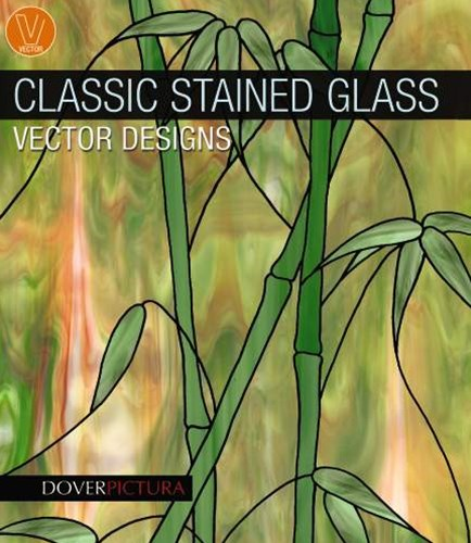 Classic Stained Glass Vector Designs