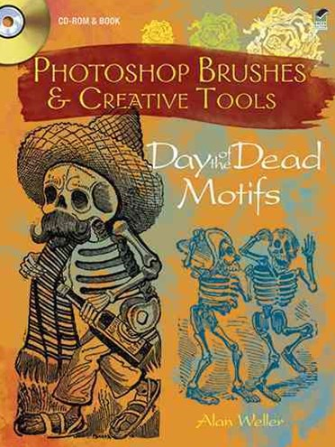 Photoshop Brushes and Creative Tools: Day of the Dead Motifs