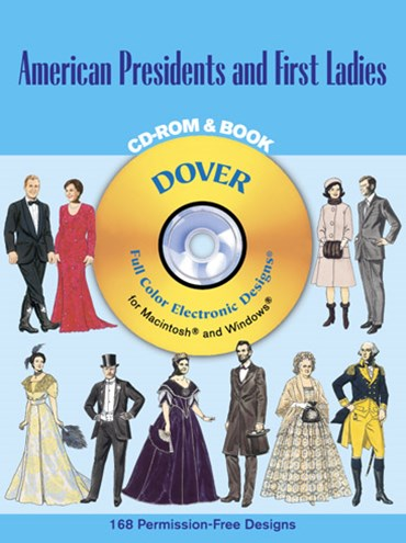 American Presidents and First Ladies CD-ROM and Book
