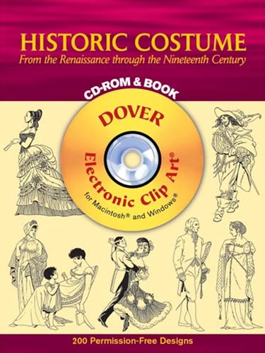 Historic Costume CD-ROM and Book