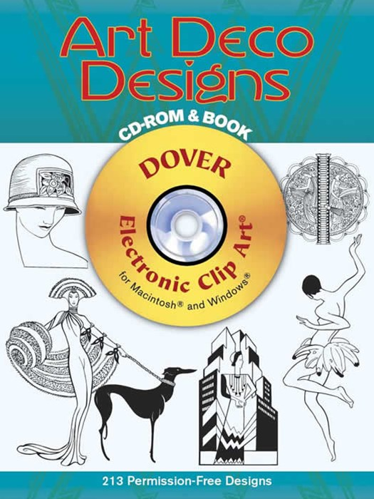 Art Deco Designs CD-ROM and Book