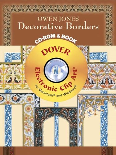 Owen Jones Decorative Borders CD-ROM and Book