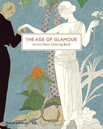 The Age of Glamour: An Art Deco Colouring Book