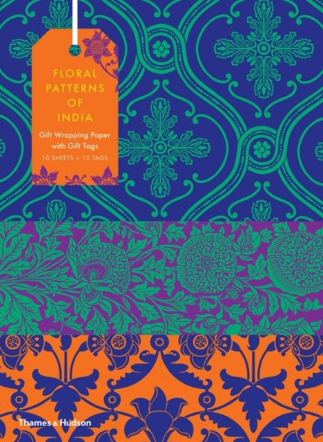 Floral Patterns of India: Giftwrapping Paper Book