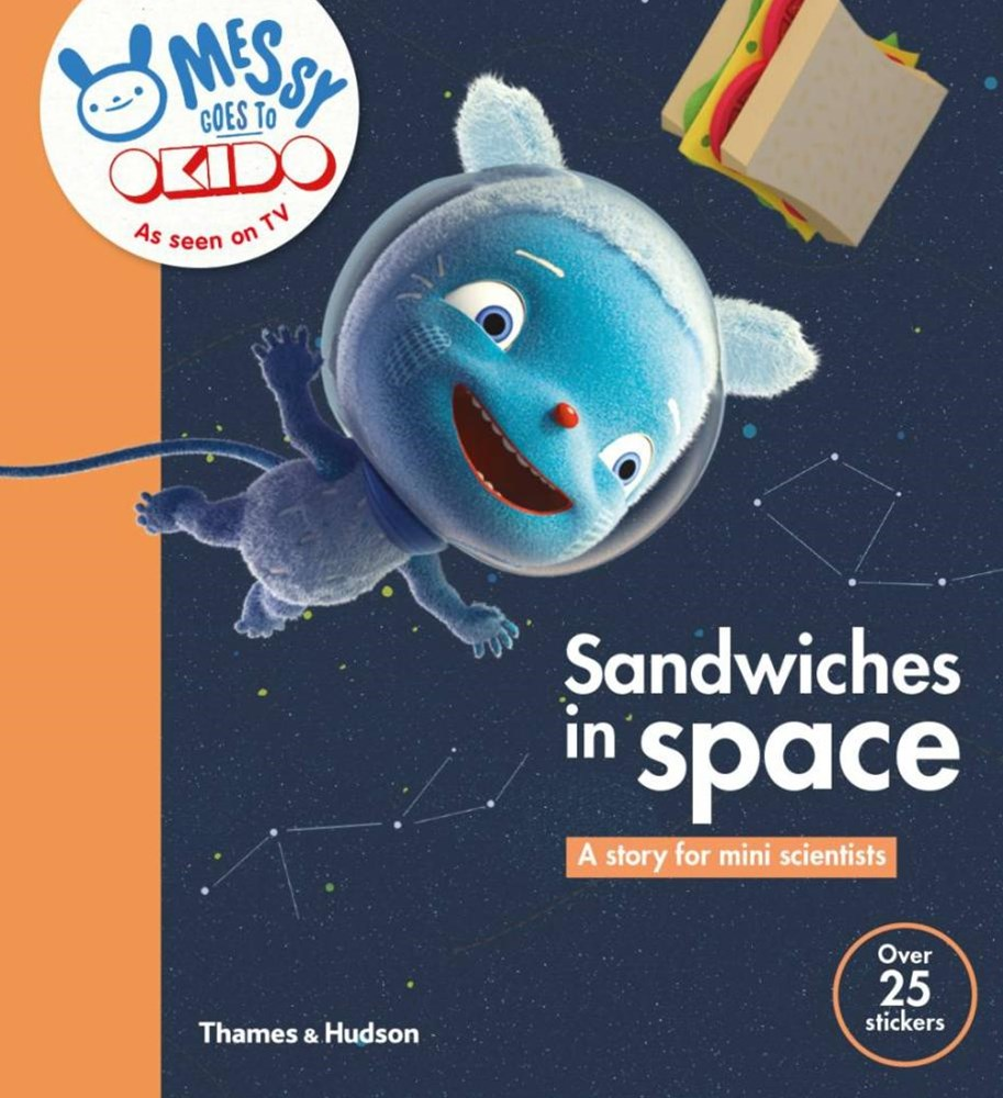 A OKIDO: Sandwiches in Space: Messy Floats in Space and Finds Out