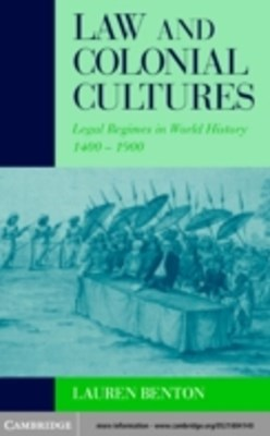 (ebook) Law and Colonial Cultures