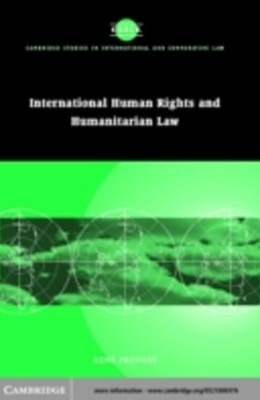 (ebook) International Human Rights and Humanitarian Law