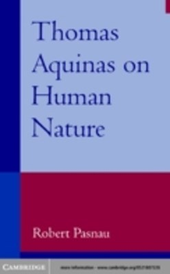 (ebook) Thomas Aquinas on Human Nature
