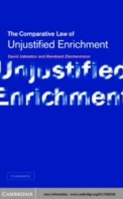 (ebook) Unjustified Enrichment