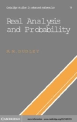 (ebook) Real Analysis and Probability