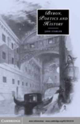 (ebook) Byron, Poetics and History
