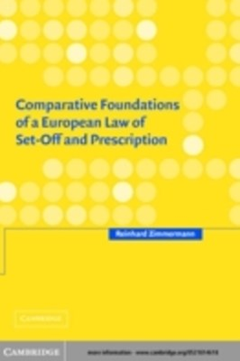 (ebook) Comparative Foundations of a European Law of Set-Off and Prescription