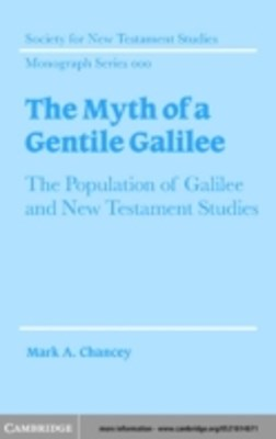 Myth of a Gentile Galilee