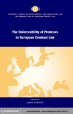 (ebook) Enforceability of Promises in European Contract Law