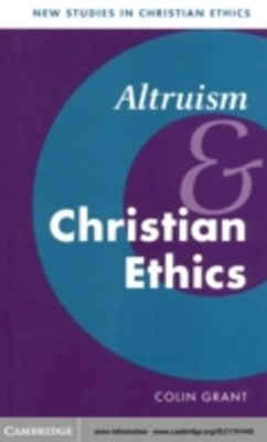 (ebook) Altruism and Christian Ethics