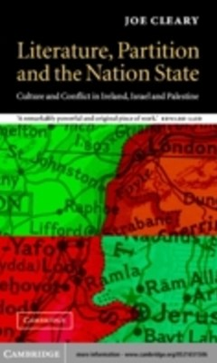 (ebook) Literature, Partition and the Nation-State