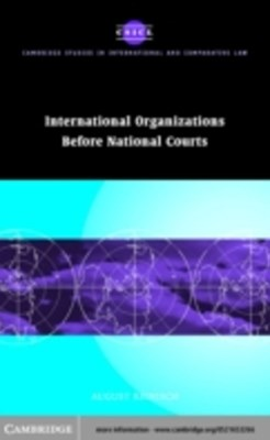(ebook) International Organizations before National Courts